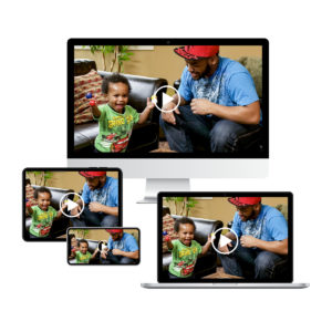 BabyCues ® A Child's First Language On-Demand Video Streaming: English